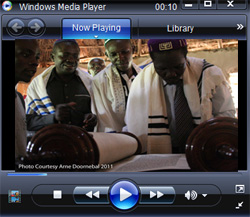 Watch video of first Torah reading and Hagbah
